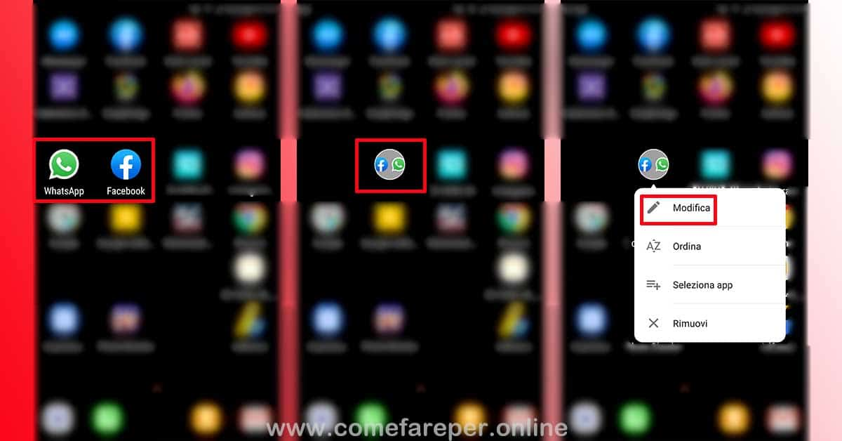 Creare cartelle Android